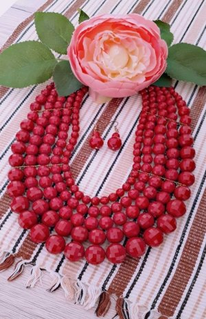 Pearl Necklace multicolored