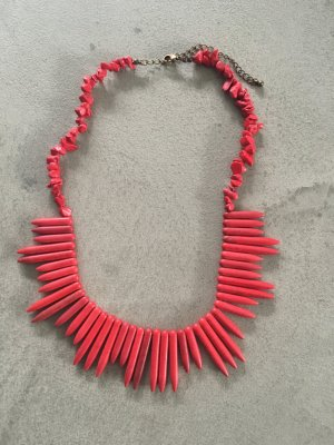Statement-Kette // rot // H&M