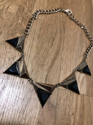 Forever 21 Statement Necklace black-gold-colored