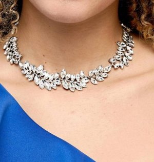 Zara Collier Necklace silver-colored