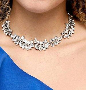 Zara Collier Necklace silver-colored