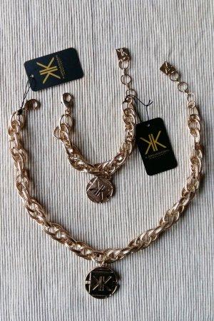 Statement Kette und Armband Kardashian Kollection Jewelry Gold Metall