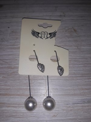 Statement Earrings silver-colored