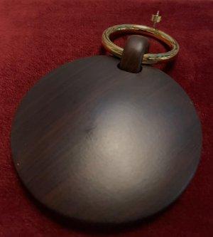 Michael Kors Boucle d'oreille incrustée de pierres brun noir-doré