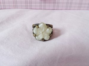Statement Ring Blume