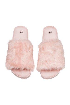 H&M Sandals light pink