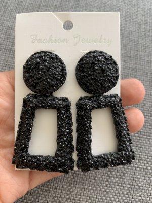 Statement schwarz Ohrringe Zara