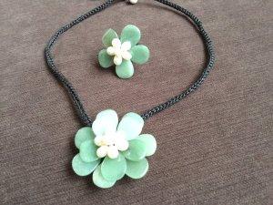 Chain lime-green