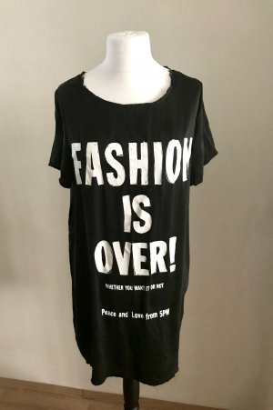 Statement Shirt aus Seide mit coolem Print