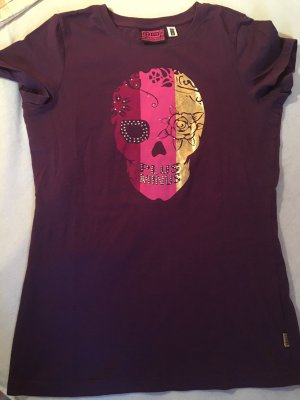STATEMENT T-Shirt von PLUS MINUS, SKULL, HINGUCKER, Gr. SMALL