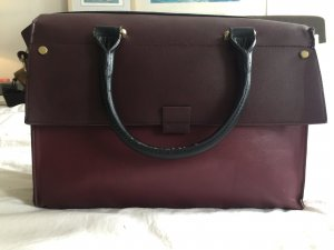 Statement Tasche in Burgundy