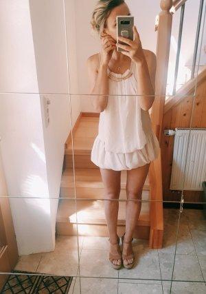100% Fashion Mini Abito crema