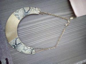 Zara Cadena de cuentas color oro-gris claro