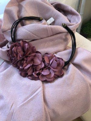 Statementkette fuchsia bordeaux rot Halskette
