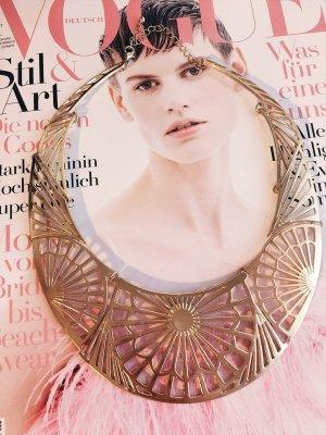 Statementkette Gold • Bloggerstyle H&M
