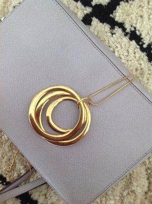 Zara Cadena de cuentas color oro