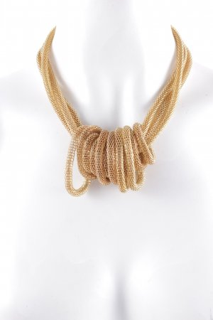 Statement Necklace gold-colored elegant