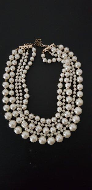Statementkette Perlenkette top Zustand