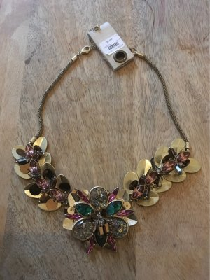 Anthropologie Statement Necklace multicolored