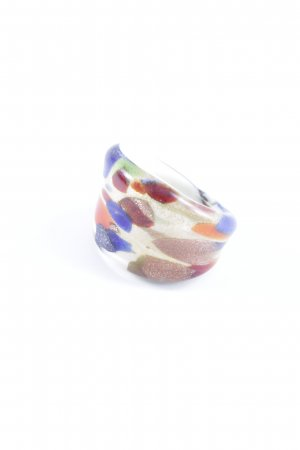 Statement Ring abstract pattern extravagant style