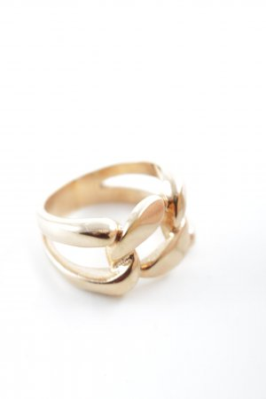 Statement Ring gold-colored elegant