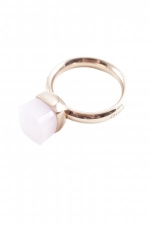Statement ring goud-rosé casual uitstraling