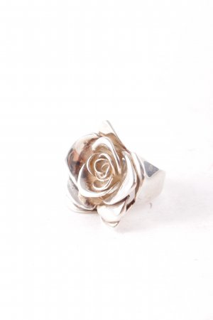 Statement Ring silver-colored romantic style
