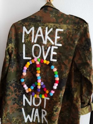 Oversized Jacket multicolored