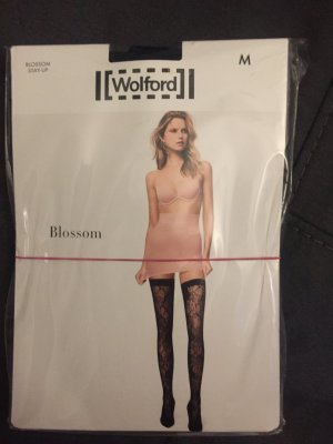Stay-up  Wolford Gr.M Spitzenmuster