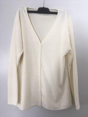 Knitted Blazer cream-natural white