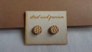 Stecker Ohrringe aus Holz