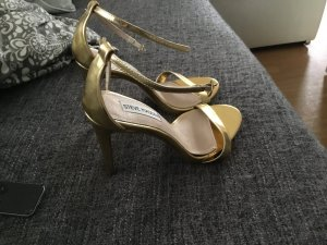 STECY - High Heel Sandaletten - bright gold
