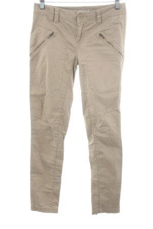 Stefanel Pantalone a 7/8 marrone chiaro stile casual