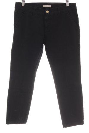 Stefanel 7/8 Jeans schwarz Casual-Look