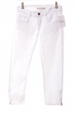 Stefanel 7/8 Length Jeans white casual look
