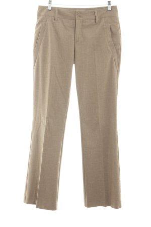 Stefanel Pantalone da abito crema stile professionale