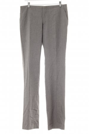 Stefanel Suit Trouser grey-grey brown check pattern business style