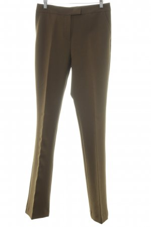 Stefanel Pantalón de vestir gris verdoso estilo «business»