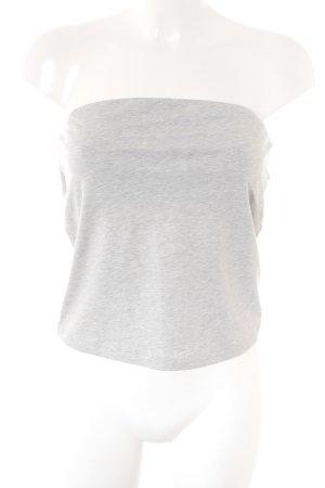 Stefanel Haut bandeau gris clair style simple