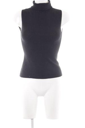 Stefanel Basic topje zwart elegant