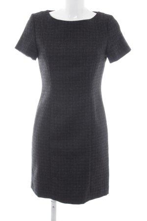 Stefanel Bleistiftkleid schwarz-grau Elegant