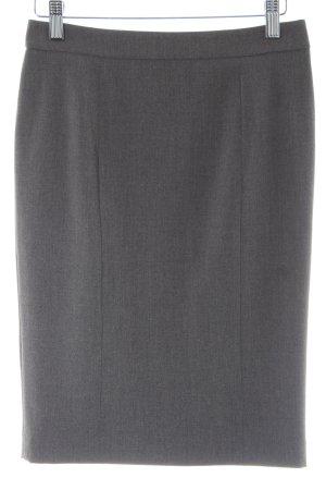 Stefanel Falda de tubo gris oscuro estilo «business»