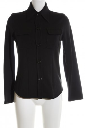 Stefanel Blouse Jacket black business style