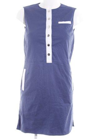Stefanel Blusenkleid kornblumenblau Casual-Look