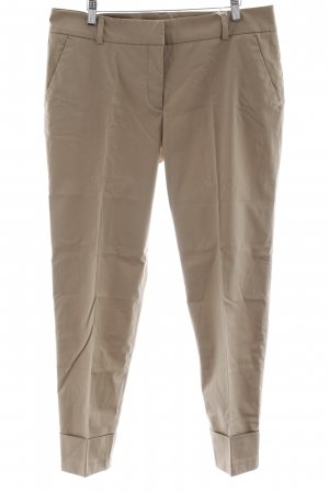 Stefanel Bundfaltenhose camel Business-Look
