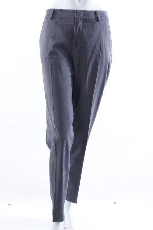 Stefanel Bundfaltenhose grau
