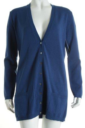 Stefanel Cardigan blau Casual-Look