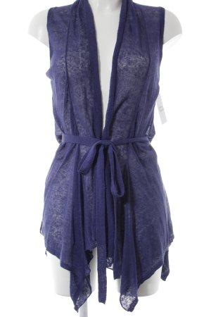 Stefanel Cardigan blauviolett Casual-Look
