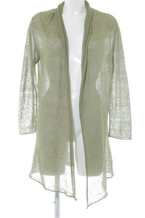 Stefanel Cardigan khaki Street-Fashion-Look