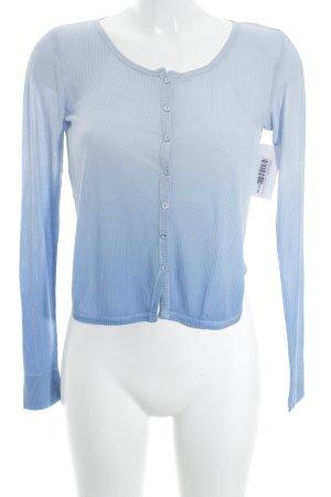 Stefanel Cardigan kornblumenblau-himmelblau Casual-Look